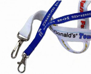 Customised lanyards