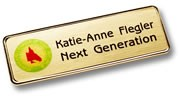The executive Name badges for corporate