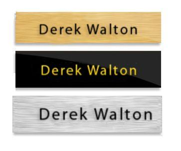 Replacement Inserts Door Name Plate