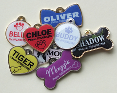 Full Colour Pet Tags