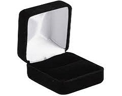 Black Leatherette Case 50mm Velvet Insert