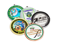 Full Colour Custom Medallions