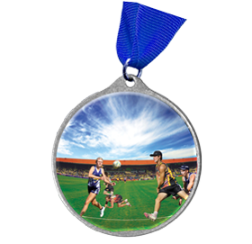 Touch Football Medal