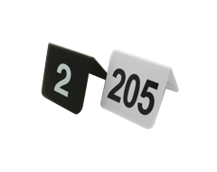 Table Number Plates Sets