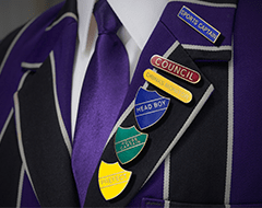 order school badges from aj parkes