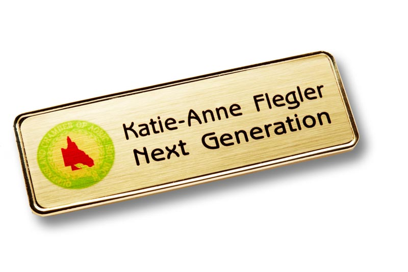 Executive Name Badge